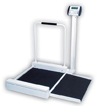 Detecto Digital & Stationary Wheelchair Scale