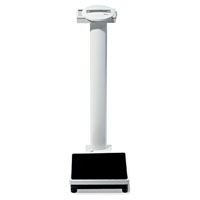 Seca Electronic Column Scale w/BMI & Height Rod - 450 lb capacity