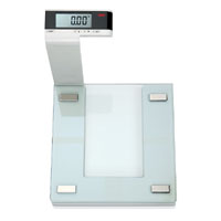 Seca Digital Pedestal Scale with Glass Platform