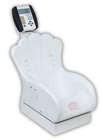 Detecto Digital Pediatric Scale w/Inclined Chair Seat