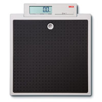 Seca High Capacity Flat Scale w/Integrated Display - 500 lb