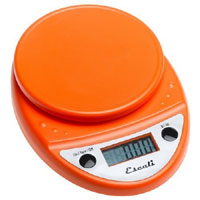 Escali Primo Digital Multifunctional Scale Pumpkin Orange