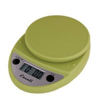 Escali Primo Digital Multifunctional Scale Terragon Green