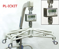Detecto Connecting Link Kit: Hoyler Lifts or Invacare Lifts