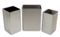 Detecto Standard Stainless Steel Waste Receptacles