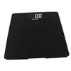 Escali Sleek Glass Bath Scale - Black
