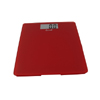 Escali Sleek Glass Bath Scale - Rio Red