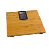 Escali Solar Bath Scale - Bamboo