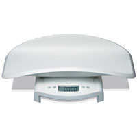 Seca Electronic Baby Scale w/ Removable Tray - weighs up to 44 lbs