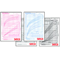 Seca Growth Charts 100 pack