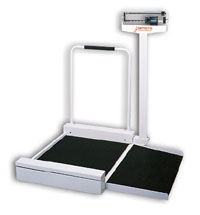 Detecto Stationary & Mechanical Wheelchair Scale