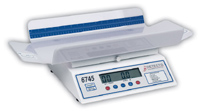 Detecto Digital Baby Scale w/Printer Output & 4-sided tray