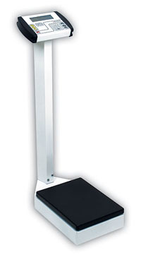 Detecto ProMed Waist-High Physician Scale w/o Height Rod