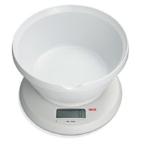 Seca Digital Diet Scale with Bowl