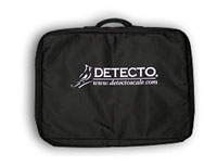 Detecto Carrying Case for Low-Profile Digital Portable Physicians Floor Scale
