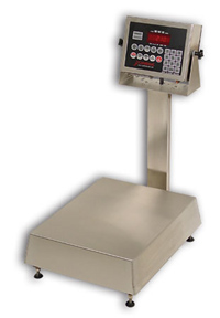 Detecto NB1418-210 Waterproff Stainless Steel Bench Scales