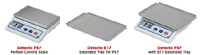 Detecto Stainless Steel Extended Tray for PS7